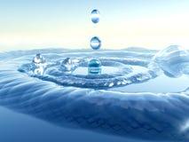 Plons 2 van het water royalty-vrije illustratie