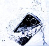 Plons Smartphone royalty-vrije stock afbeelding