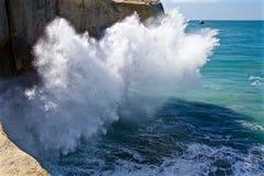 Plons van golven Royalty-vrije Stock Afbeeldingen