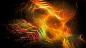 Plons van verzadigde kleuren Stock Foto