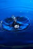 Plons van water royalty-vrije stock fotografie