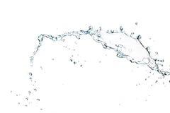 Plons van water Stock Afbeeldingen