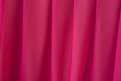 Plooiende elegante roze chiffon of satijntextuur als achtergrond Royalty-vrije Stock Afbeelding