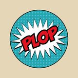 Plop po art Royalty Free Stock Photo