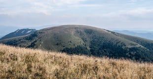 Ploska από Borisov στα βουνά Velka Fatra στη Σλοβακία Στοκ Φωτογραφία