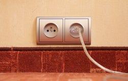 Plot électrique Images libres de droits