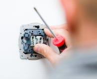 Plot électrique Photo stock