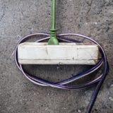 Plot électrique Photographie stock libre de droits