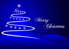 Plot blue christmas Stock Photo