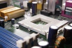Plot de CPU Photo stock