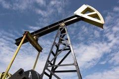 Plot de pompe de pétrole photographie stock libre de droits