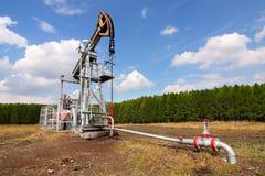 Plot de pompe de pétrole photos libres de droits