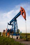 Plot de pompe de pétrole Photographie stock