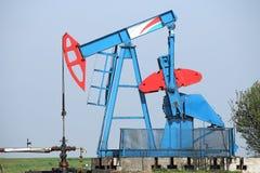 Plot de pompe de pétrole Image libre de droits