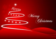Plot red christmas Royalty Free Stock Photography
