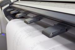 Plotador do CAD imagem de stock
