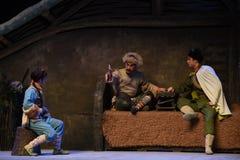"""Plotka ciepła końcówka Peking opera """"Taking Tygrysiego Montain Strategy† Obrazy Stock"""