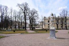 Plots of the Pavlovsky Palace Royalty Free Stock Photos