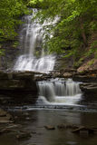 Plotter Kill Falls. In Plotterkill Preserve Rotterdam NY stock photo