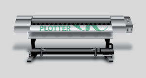 Plotter Stock Image