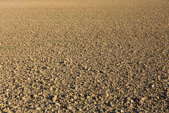 Plough agriculture field Stock Photography