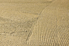 Plough agriculture field before sowing Royalty Free Stock Photo