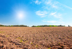 Plough-land Royalty Free Stock Images