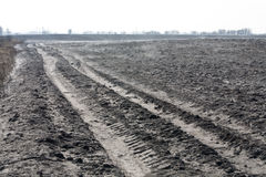 Plough land Stock Photography