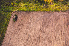 Ploughed field Royalty Free Stock Images