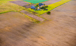 Ploughed field Stock Photos