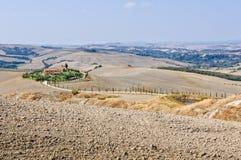Ploughed Fields - Crete Senesi Stock Photography