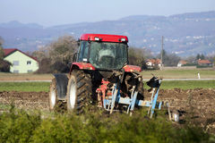 Ploughing Stock Image