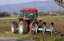 Ploughing foto de stock