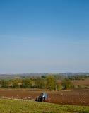 ploughing Imagem de Stock