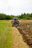 Ploughing field Royalty Free Stock Photos