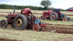Ploughing match in England Royalty Free Stock Photos