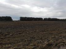 Ploughland Στοκ φωτογραφία με δικαίωμα ελεύθερης χρήσης