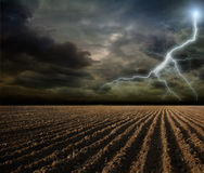Ploughland Stock Image