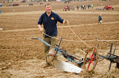 Ploughman John Fletcher Royalty Free Stock Images