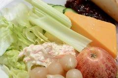 Ploughman Lunch Royalty-vrije Stock Fotografie