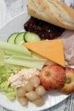 Ploughman Lunch Stock Afbeeldingen