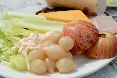 Ploughman Lunch Royalty-vrije Stock Afbeeldingen