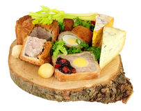 Ploughman`s Buffet Lunch royalty free stock photos