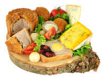 Ploughman`s Buffet Lunch Stock Image