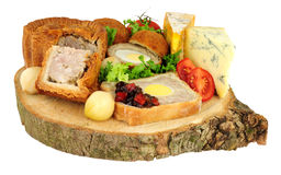 Ploughman`s Buffet Lunch stock images