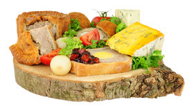 Ploughman`s Buffet Lunch royalty free stock image