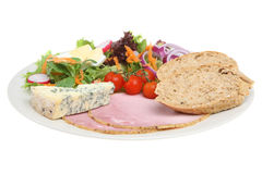 Ploughman S Lunch Stock Photo