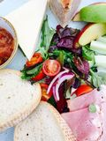 Ploughman's lunch Royalty Free Stock Images