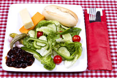 Ploughman's salad Stock Images