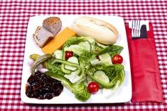 Ploughman's salad Stock Image